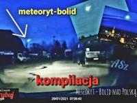 Meteoryt - Bolid nad Polską 29.01.2021 ☄️