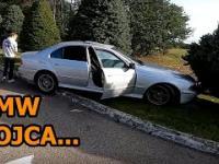 Rozbili BMW Ojca