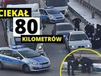 Pościg za BMW zakończony blokadą na A4. Film z zatrzymania!