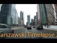 Zimowy Warszawski Timelapse: Śródmieście - Ursynów - Śródmieście