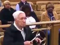 96-letek uniewinniony przez sędzię za przekroczenie limitu prędkości
