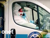Lekarka do ratownika: pan jest chyba chory na umyśle! Awantura pod bramą szpitala