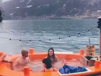 Kąpiel na łódce