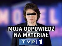 Odpowiedź youtubera na szkalujący go materiał TVP