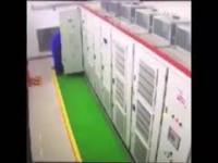 Łęcina robi w elektryce