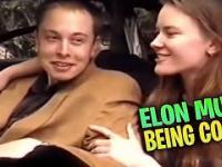 Młody Elon Musk odbiera swojego McLarena