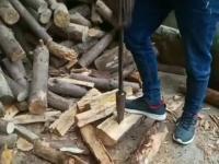 Ale kozacka łuparka do drewna