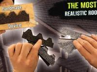 Budowa mini chaty z bali. Realistyczny dach ????