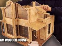 Miniaturowy Dom jest jak prawdziwy budynek mieszkalny. Jak to zbudowałem?