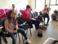 Nauka gry na flecie w nowej rzeczywistości