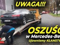 Mercedes-Benz KŁAMIE DO KOŃCA? Sprzedali WADLIWE S 63 AMG za 1000000 zł