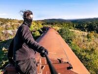 """Nielegalna podróż pociągiem """"na gapę"""" po Europie"""