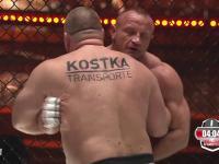 Mariusz Pudzianowski zrobił swoje i wygrał w niewiele ponad minutę