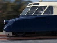 Luxtorpeda - cyfrowa rekonstrukcja przedwojennego pojazdu szynowego