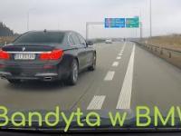 Kolejny bandyta w BMW