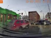 Dzień jak co dzień na rosyjskich drogach