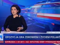 TVPiS: Gdyby nie opozycja i Gazeta Wyborcza to byłoby mniej zakażeń