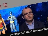 Jeden z dziesięciu ➫ Wonder Woman, Batman i Flash - należą do drużyny Ligi Sprawiedliwości/Avengers?