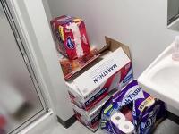 Prank z papierem toaletowym