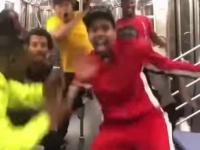 Taniec w metrze
