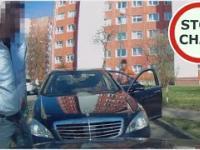 Agresja drogowa - pat na wąskiej jezdni