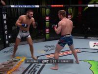 Pierwsze zwycięstwo Mateusza Gamrota w UFC