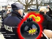 Bomba w głośniku - czego to policja nie wymyśli