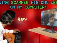 Scamer był w szoku gdy zobaczył swoją twarz na komputerze