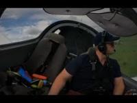 Awaria silnika podczas pierwszego samodzielnego lotu pilota