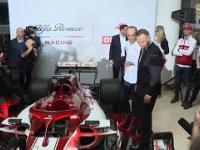 Kubica wyjaśnia Dudzie, jak jeździć bolidem Alfy Romeo
