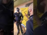 Idealny przykład przekroczenia uprawnień przez Policję - wszystko nagrane