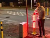 """Inteligentne przejście dla pieszych """"Safepass"""""""