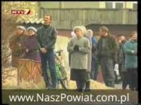 Cud Pajęczno 1999 rok - Jezus na bloku