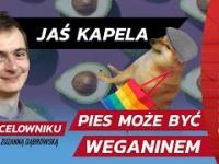 """Lewicowy aktywista torturuje psa - """"Mój pies jest weganinem i jest zadowolony"""""""