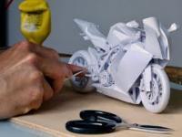 Jak zrobić motocykl z papieru