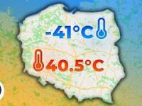Jakie jest najcieplejsze i najzimniejsze miejsce w Polsce?