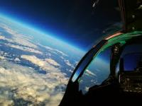 MiG-31 Foxhound na krawędzi kosmosu - widok z kokpitu