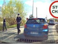 Policja usiłuje wlepić mandat kierowcy - znajomość przepisów to podstawa