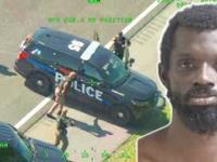 Przestępca podczas ucieczki kradnie... dwa radiowozy po kolei