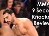 Ozzy Man Reviews: nokaut w 9 sekund w MMA