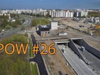 Budowa tunelu trasy POW 26