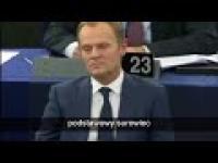 Andrzej Duda o PO i Tusku w Parlamencie Europejskim