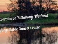 Niezapomniany rejs o zachodzie słońca na Corroboree Billabong