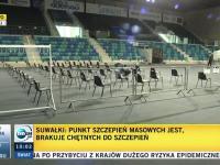 PSM w Suwałkach dziś rano: 3000 dawek AstraZeneca, 1000 dawek Moderna i 1 chętny