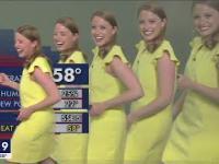 Meteorolog mnoży się na ekranie podczas usterki grafiki FOX 9 KMSP