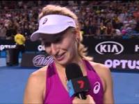 Przejęzyczenie tenisistki