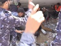 Uratowano dziecko, które przez 7 godzin było uwięzione pod gruzami