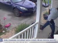 Kobieta zabija instruza, który wbił do jej domu