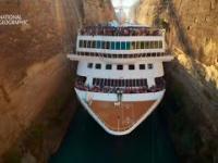W tym najgłębszym kanale świata ledwo mieszczą się statki [Europa z powietrza]