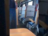 Komunikat w języku angielskim w pociągu IC